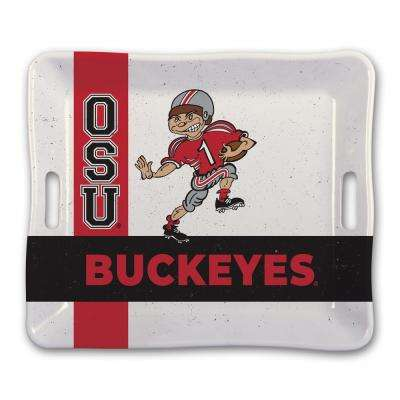 Ohio State Melamine Serving Tray