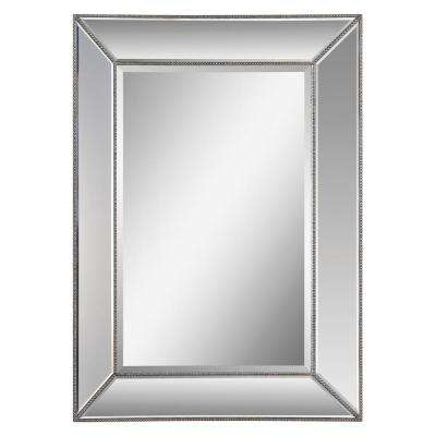Whitney 34 in. x 46 in. Framed Wall Mirror