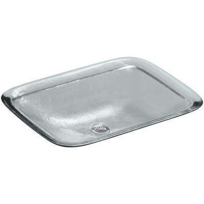 Inia 20-5/8 in. Drop-In Bathroom Sink in Ice
