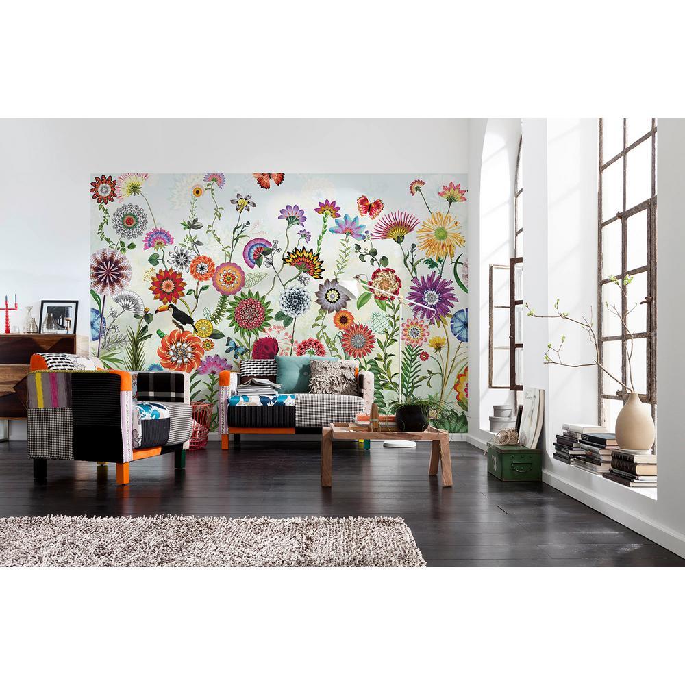 Brazil Flowers Wall Mural