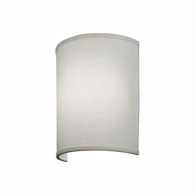 Aberdale 11 in. LED Tan Linen Sconce