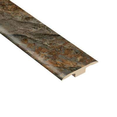 Riverton 1/4 in. Thick x 1-7/16 in. Wide x 94 in. Length Vinyl T-Molding