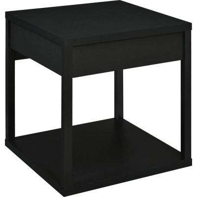 Nelson Black End Table