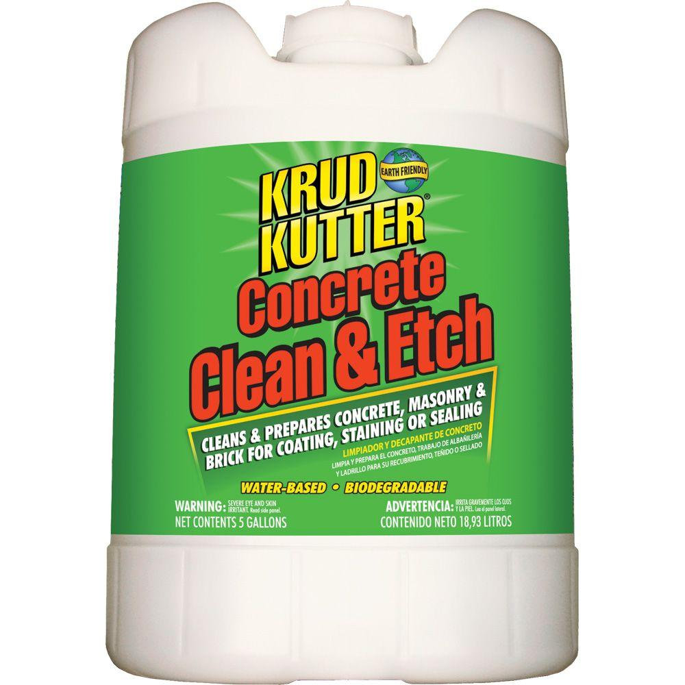 Krud kutter 5 gal concrete clean and etch ce05 the home for Cement cleaning products