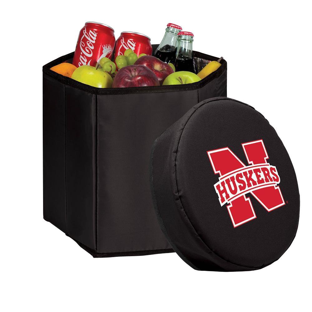 12 Qt. Nebraska Cornhuskers Black Bongo Cooler