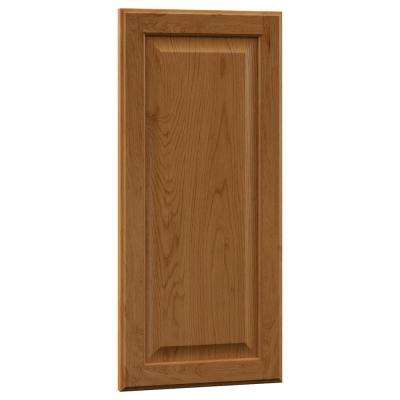 0.75x27.80x13.03 in. Hampton Island Decorative End Panel in Medium Oak