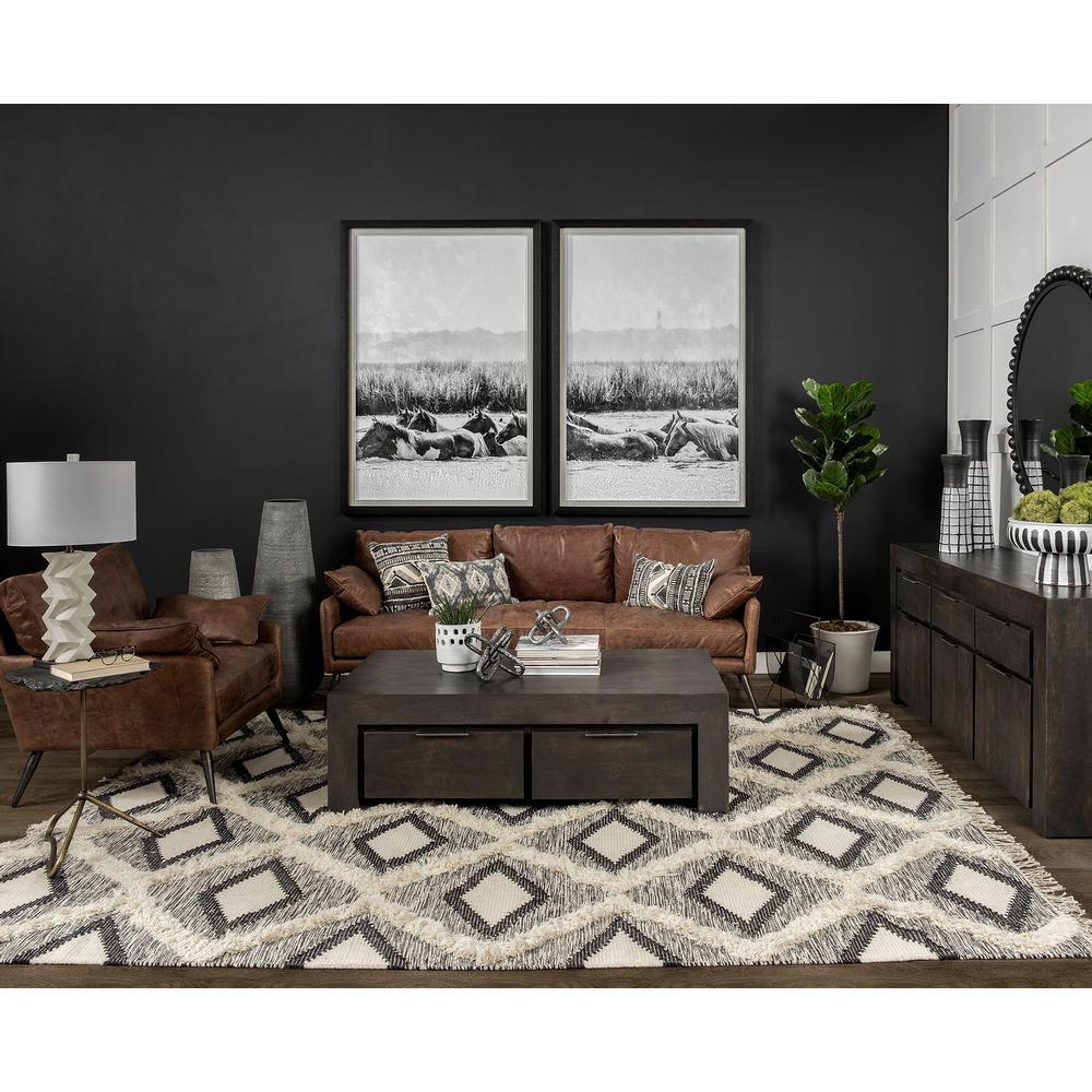 Mercana Kalahari Ii Large Grey Decorative Vase 67669 The Home Depot