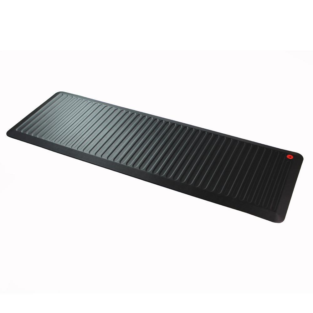 AFS-TEX® 6000X 23'' x 67'' Black Extra Long Active Anti-Fatigue Mat