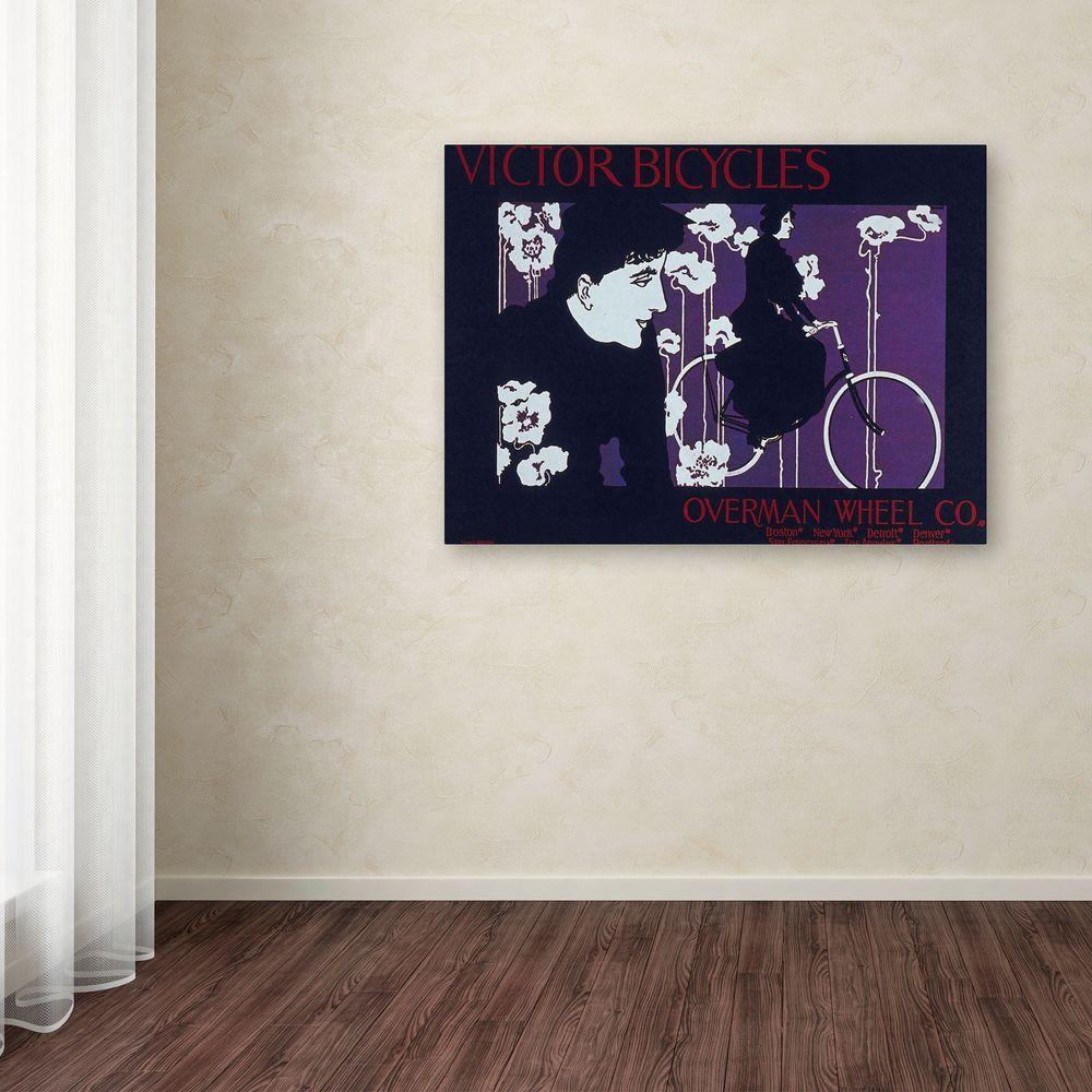 14 in. x 19 in. Bike 04 Canvas Art