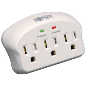 Direct Plug-in 3-Outlet Surge Protector