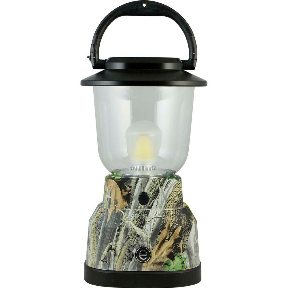 Extreme Battery Operated LED Green Camoflage Lantern