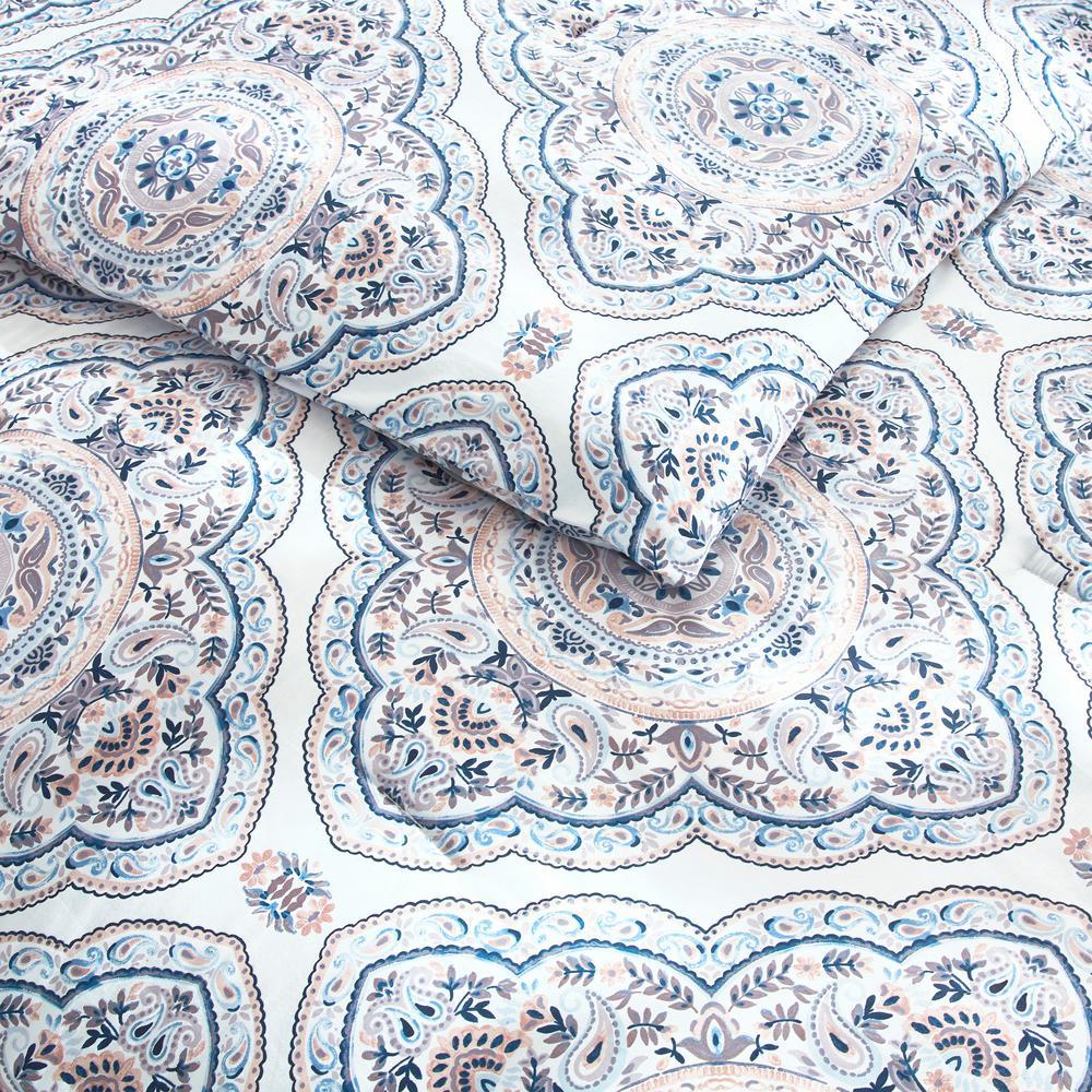 Alana 3-Piece Medallion Comforter Set