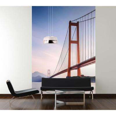 72 in. W x 100 in. H Xihou Bridge Wall Mural