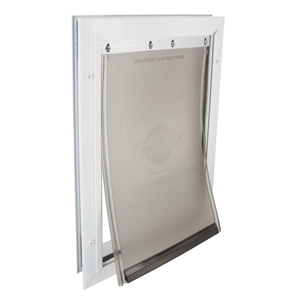 PetSafe 8.25 in. x 12.25 in. Medium Freedom Aluminum Pet Door
