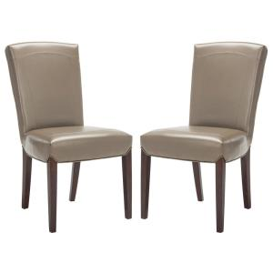 Ken Clay Bicast Leather Side Chair (Set of 2)