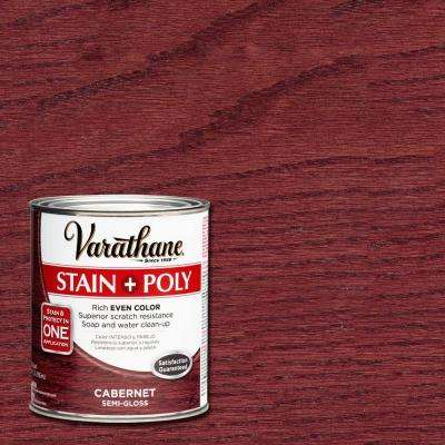 1-qt. Cabernet Stain and Polyurethane (Case of 2)