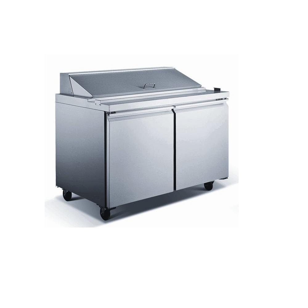 EQ Kitchen Line 15.1 cu. ft. 60.25x29.5x42.37 in. 2-Door Commercial ...