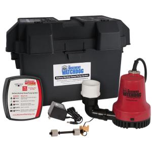 Emergency Battery Backup Sump Pump System