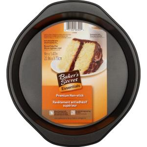 Baker's Secret Essentials 9 inch Round Cake Pan by Baker's Secret