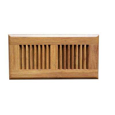 Carbonized 4 in. x 10 in. Strand Bamboo Vent Cover