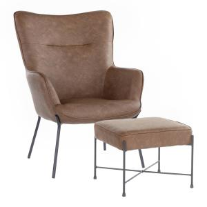 Prime Amerihome Natural Tanned Leather Butterfly Chair 802962 Ibusinesslaw Wood Chair Design Ideas Ibusinesslaworg