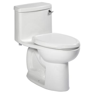 Compact Cadet 3 FloWise Tall Height 1-Piece 1.28 GPF Single Flush Elongated Toilet in White with Right Hand Trip Lever