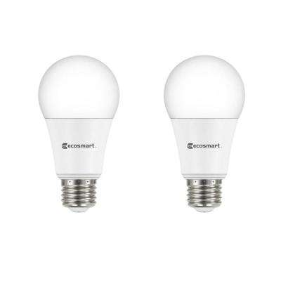 75-Watt Equivalent A19 Dimmable LED Light Bulb, Soft White (2-Pack)