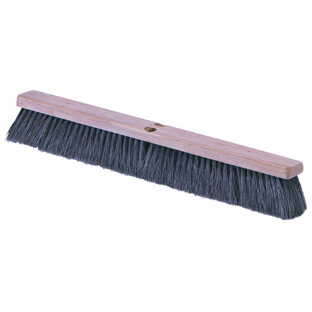 null 14 in. Tampico Bristles Medium Sweep Broom (Case of 12)