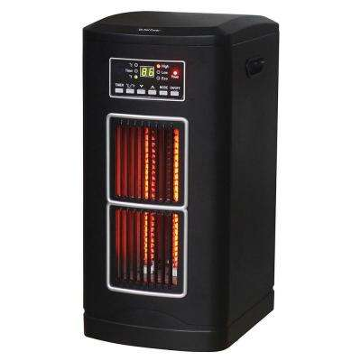 1500 Watt Tower Style Infrared Quartz Comfort Portable Furnace Heater