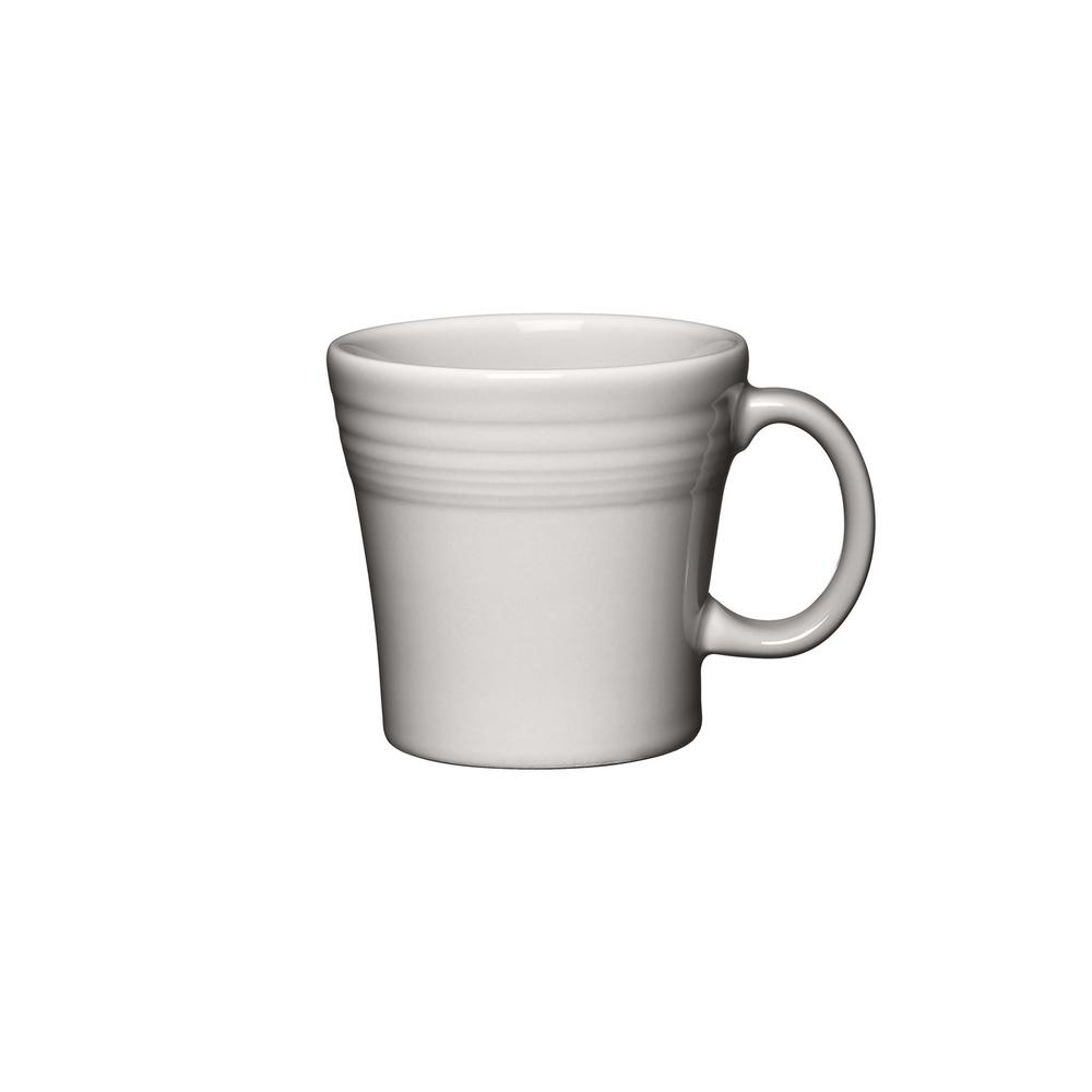 15 oz. White Tapered Mug