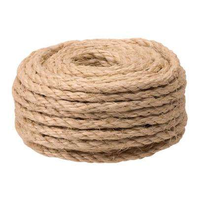 1/4 in. x 50 ft. Twisted Sisal Rope Twine, Natural