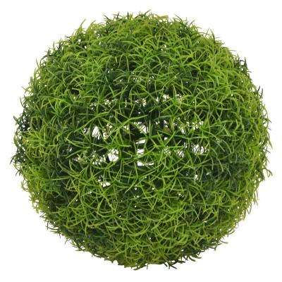 9 in. Green Artificial Boxwood Ball