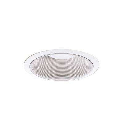 310 Series 6 in. White Recessed Ceiling Light Coilex Baffle and Trim Ring
