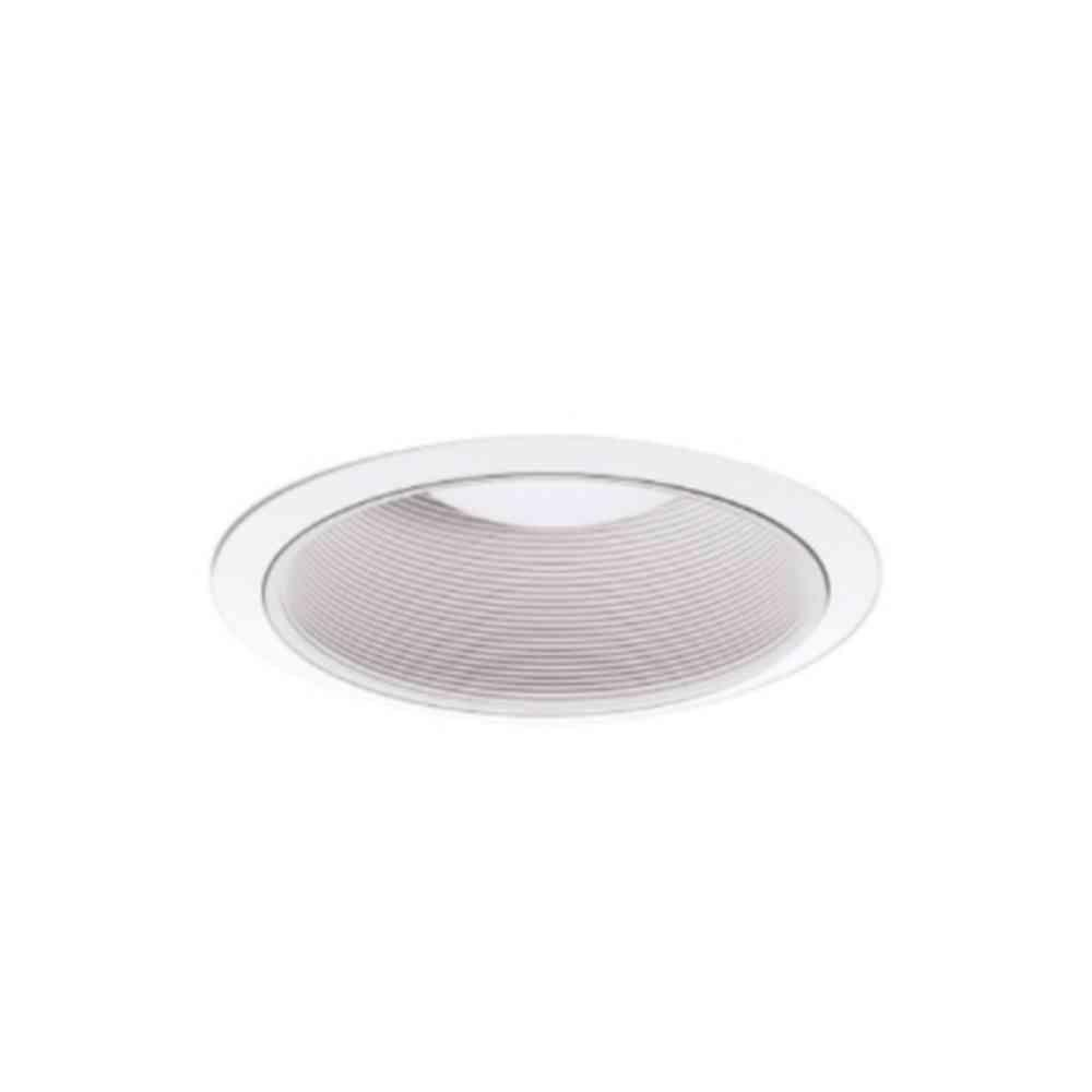 Halo 6 in. White Recessed Ceiling Light Coilex Baffle and White Trim (6-Pack)