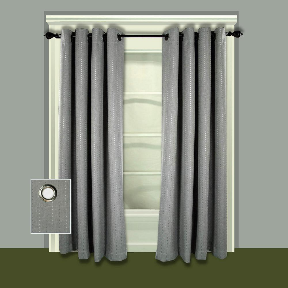 Grand Pointe 54 in. W x 63 in. L Polyester Blackout