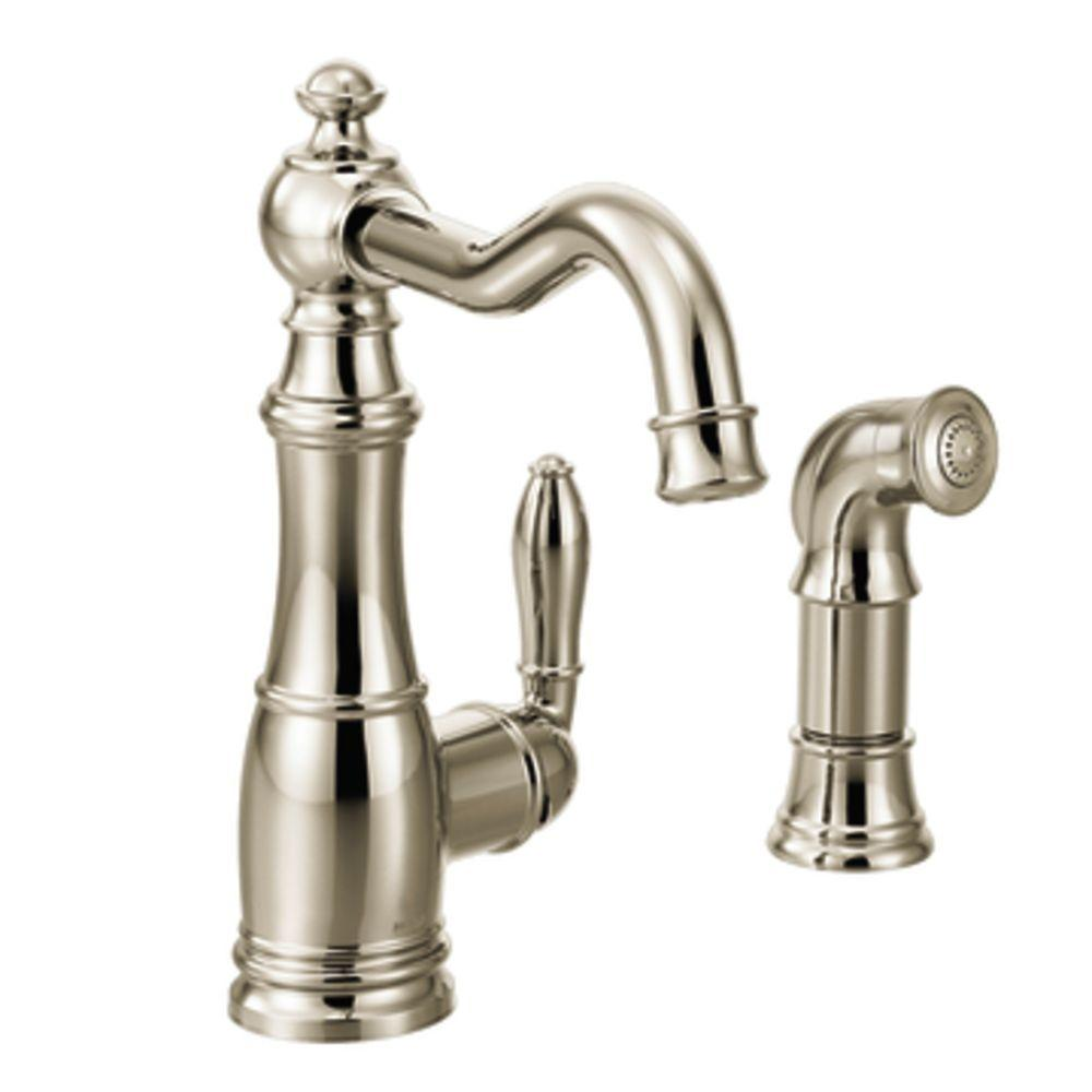moen kitchen faucet brushed nickel moen brushed nickel kitchen faucet spray besto blog 3190