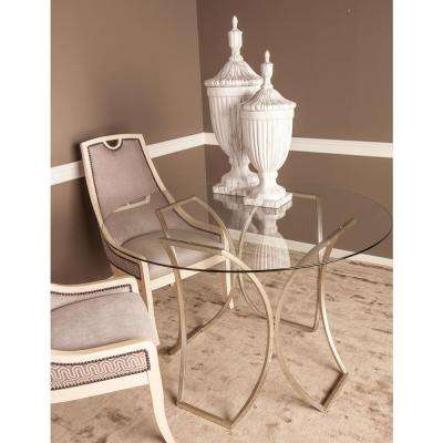 Stage Grey Chenille Side Chair