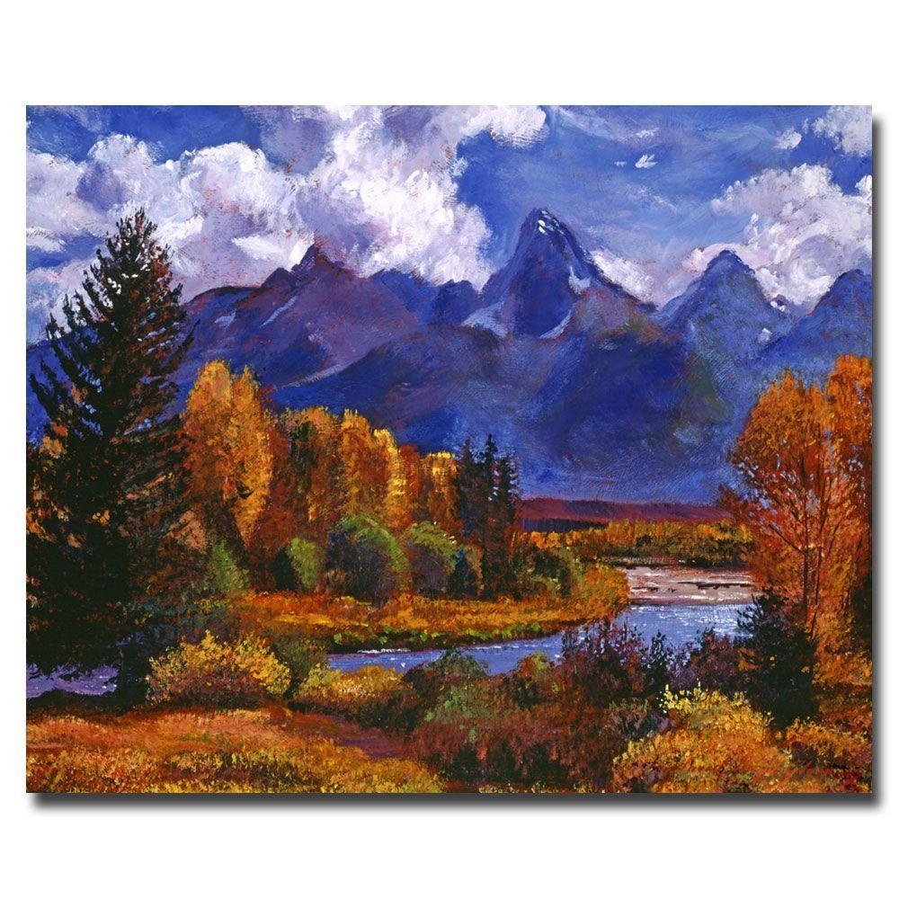 Trademark Fine Art 26 in. x 32 in. River Valley Canvas Art