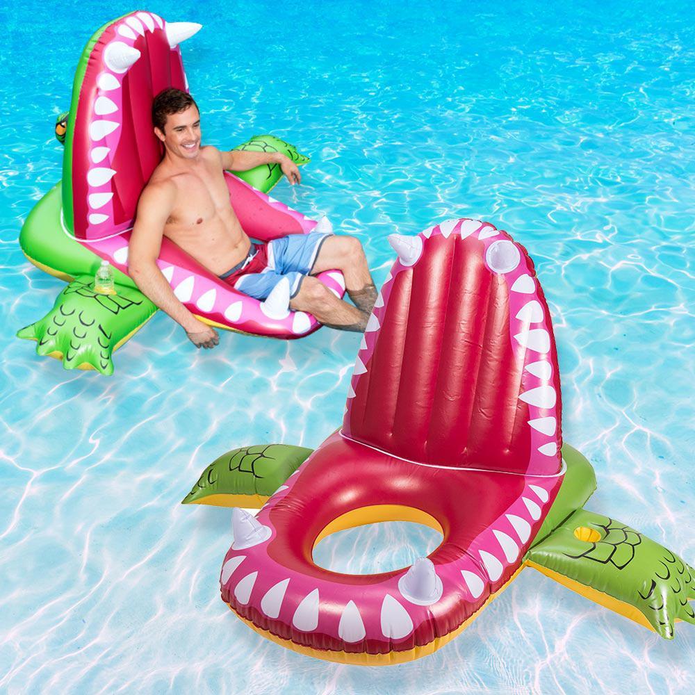 Swim Ways Eaten Alive Alligator Pool Float (2-Pack)-13201-A-02 - The ...