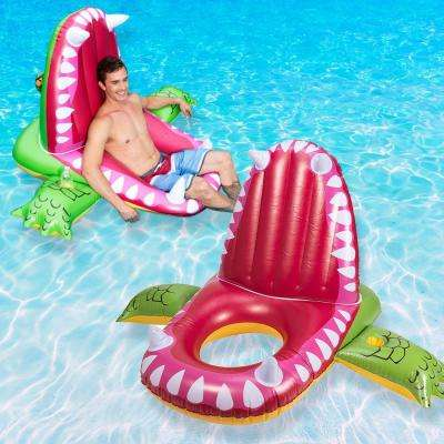 Eaten Alive Alligator Pool Float (2-Pack)