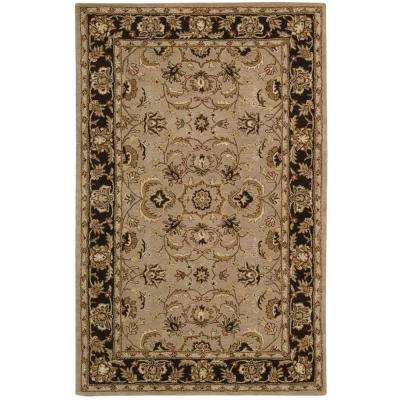 India House Taupe 5 ft. x 8 ft. Area Rug