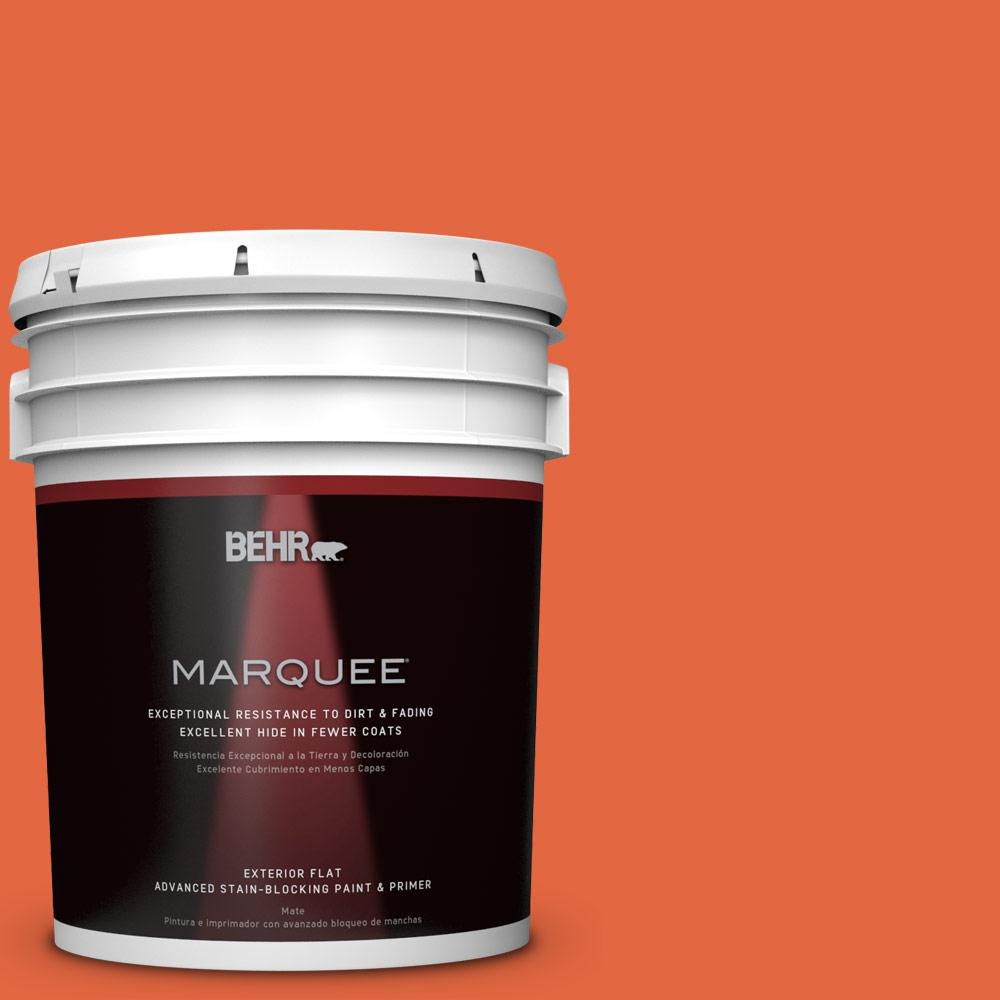 5-gal. #P190-6 Emergency Zone Flat Exterior Paint