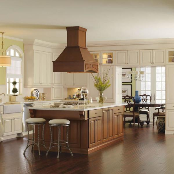 Thomasville Classic Custom Kitchen Cabinets Shown In Classic Style Hdinstslsa The Home Depot