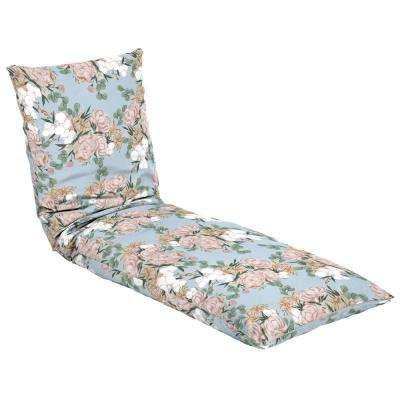 Artisans 76 in. x 25 in. Giana Floral Outdoor Throw Bed