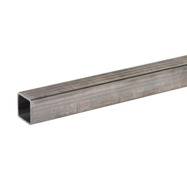 48 in. x 1-1/4 in. x 1/16 in. Plain Steel Square Tube