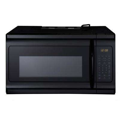 1.9 cu. Ft. Over-the-Range Microwave in Black Stainless Steel