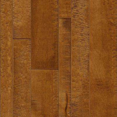 Take Home Sample - Maple Rich Umber Solid Hardwood Flooring - 5 in. x 7 in.