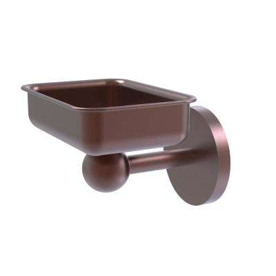 Skyline Collection Wall Mounted Soap Dish in Antique Copper