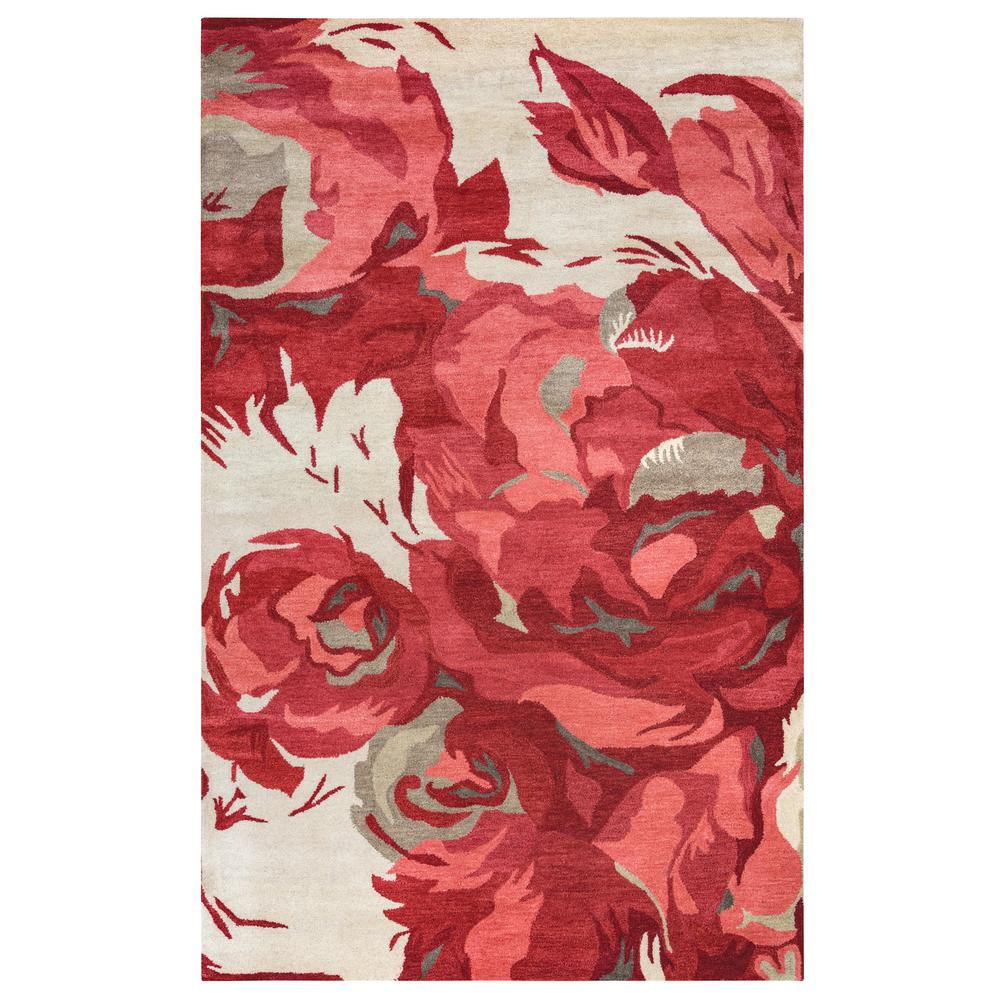 Highland Red 9 ft. x 12 ft. Area Rug