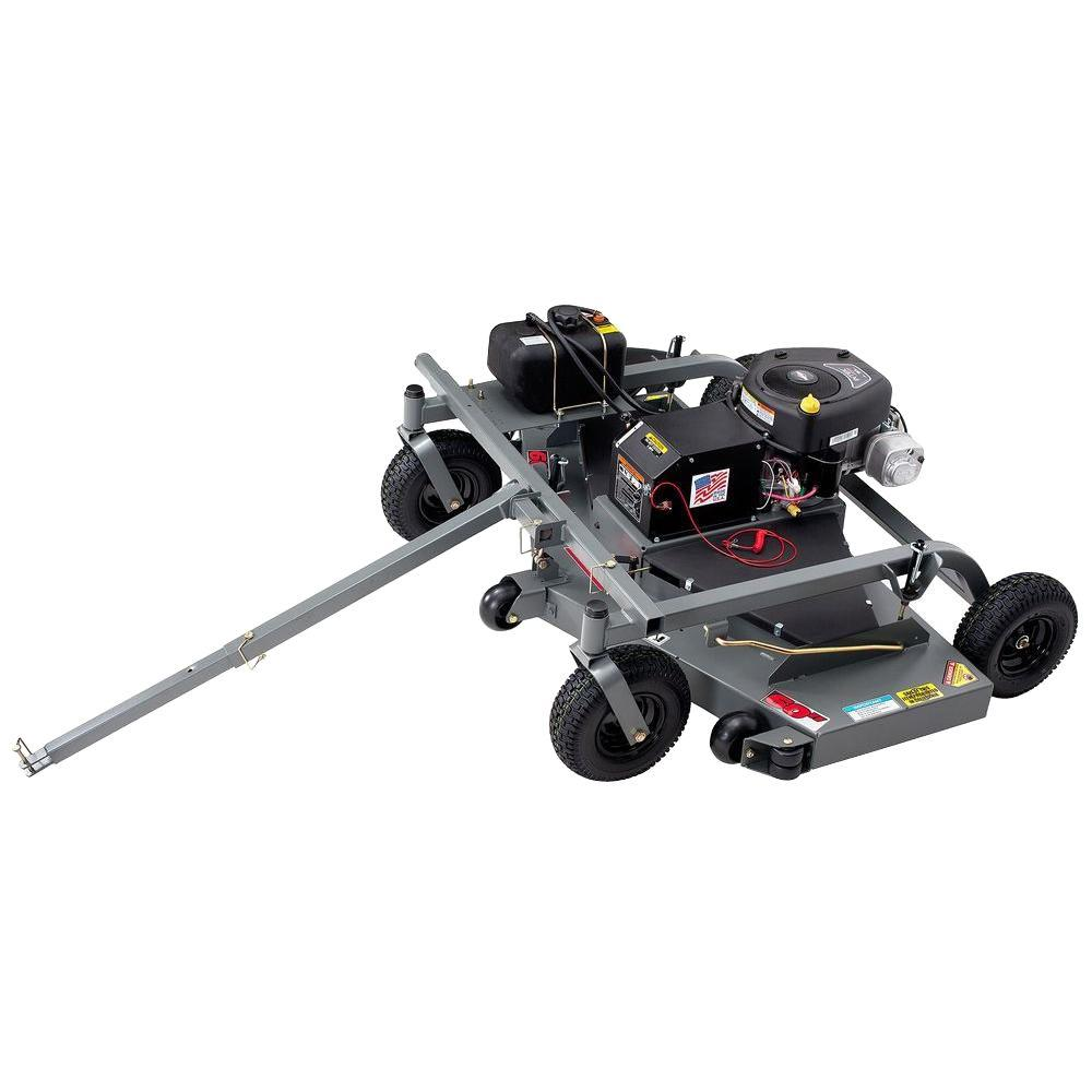 Swisher 60 in. 17.5-HP Briggs & Stratton Electric Start Finish Cut Trail Commercial Tow Behind Mower